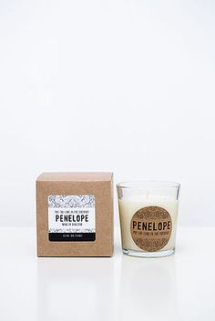 Purchase your Penelope Soy Candles here - lime coconut