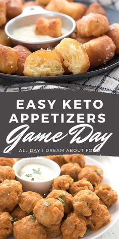 Looking for some fun finger food that won't blow your keto diet? So many wonderful recipes here!