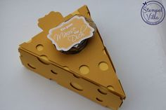 Ein paar Mäuse im Käse, Tortenstück, Geschenkidee, Geldgeschenke, Stampin' Up!