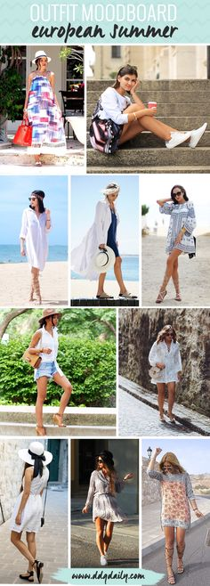 STYLE INSPIRATION FOR YOUR EUROPEAN SUMMER GETAWAY
