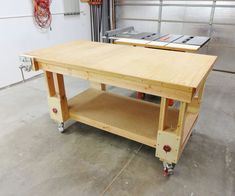 My garage floor is sloped and uneven. There is not a level spot to be found, which can be frustrating.In my quest for a more versatile garage workshop, I decided I...