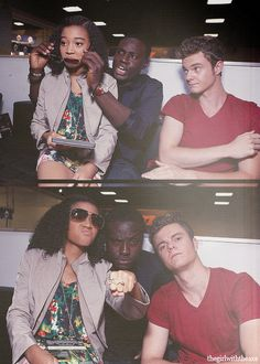 Love the cast pics coming from Comic Con. Amandla is truly BA.