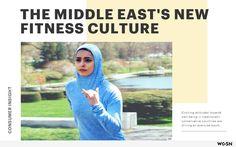 Een artikel in eigen bezit over de nieuwe fitness cultuur in het Midden-Oosten