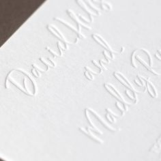 Letterpress printing brings an extra touch of class and elegance to your wedding! Wedding Invitations Online, Engagement Invitations, Letterpress Wedding Invitations, Letterpress Printing, Baby Shower Invitations, Wedding Stationery, Wedding Sets, Wedding Cards, Letter Press