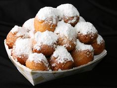 As if rock shrimp weren't succulent enough on their own, Dixie Crossroads corn fritters heavily dusted with powdered sugar are mouthwatering.