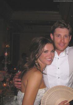 Jensen and Danneel candid #AcklesWedding