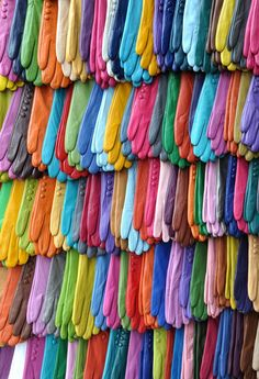 Gloves of many colors