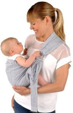 5e9c9504152 Balboa Baby® Dr. Sears Adjustable Sling Baby Carrier in Ticking  affiliate  link
