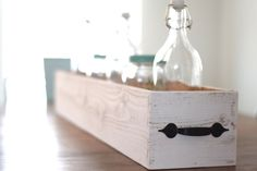 Rustic Centerpiece Box by MadisonHoller on Etsy