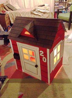 7 Adımda Karton Kutudan Oyuncak Ev Yapmak