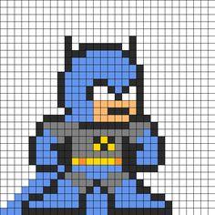 Batman_Perler_Bead_Pattern by Groundhog7s on Kandi Patterns