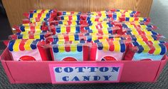 Carnival & circus treats- Cotton Candy!