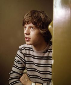 a young mick jagger