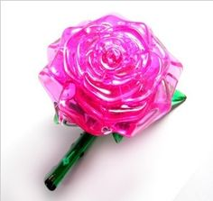 """""""Pink Rose"""" / CRYSTAL PUZZLES 44 PIECES  Cost : $13.9  shipping 6.5$"""