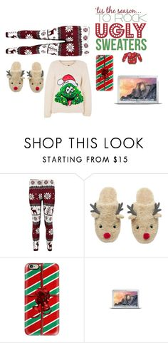 """Bella's Lazy Christmas"" by rxbx4 on Polyvore featuring Casetify"