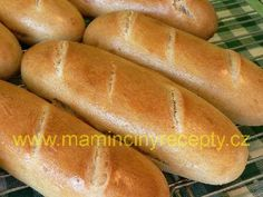 Hot Dog Buns, Hot Dogs, Bread And Pastries, Bread Recipes, Scrappy Quilts