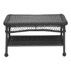 Charlton Home Forthill Wicker Patio Furniture Coffee Table & Reviews…
