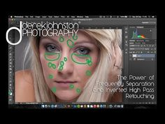 The Power of Frequency Separation and Inverted High Pass Retouching - YouTube