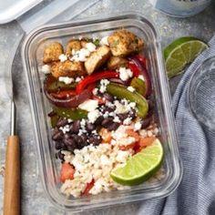 Meal-Prep Cilantro-Lime Chicken Bowls - EatingWell.com