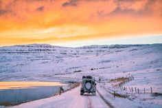Photo @chrisburkard // This is the brightest the sky gets during winter in the Westfjords. For the majority of the time the lack of sun forces you indoors as temperatures never seem to rise above freezing. But despite the numb fingers and frozen roads it's hard to complain. The sun dances along the horizon for what may be only a couple hours which makes the sky glow in a way that cant be witnessed anywhere else in the world Worth it? Definitely. by natgeotravel