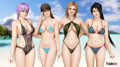 Kasumi and Ayane Last Getaway Costumes by Irokichigai01 Kasumi and Ayane Eye Texures by SabishikuKage Background by webneel.com Posed in XNALaraXPS 11 Render in Blender 2.74 Cyc...