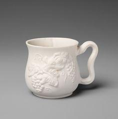Mug Rouse Pottery Trenton New Jersey Parian Ware