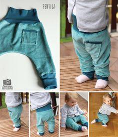 Unisex Babyhose / Kinderhose DIY - Kindertage