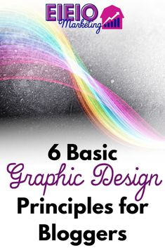 If you're not in a place to outsource graphic design, understanding these fundamental concepts of design will help you to avoid obvious mistakes that could make your blog look amateur.