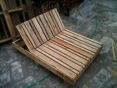 Gør Det Selv – Gratis Gør det selv projekter | Sommermøbler bygget af genbrugs paller. dcejlig solseng med indstilleligt ryglæn.