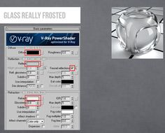 Vray Glass Really Frosted Max 3d Max Tutorial, Vray Tutorials, 3d Max Vray, Material Library, Sketchbook Pages, Glass Material, 3ds Max, Architectural Elements, Learning