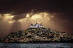 Shiny Lighthouse of Stavern (Norway)