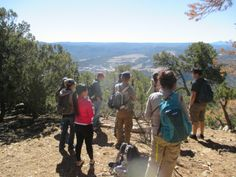 American Indian Student Services Group Geological Hike  Getaway Adventure Program