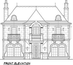 Upstairs Three Ways - 36199TX   European, French Country, Traditional, Luxury, Narrow Lot, 2nd Floor Master Suite, Butler Walk-in Pantry, CAD Available, Den-Office-Library-Study, Elevator, Jack & Jill Bath, Loft, Media-Game-Home Theater, Multi Stairs to 2nd Floor, PDF, Corner Lot   Architectural Designs