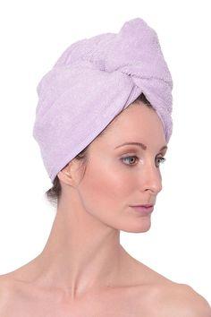 Bath Nice 4pcs Microfiber Hair Drying Towels Fast Drying Hair Cap Long Hair Wrap Hair Towel beige, Dark Purple, Light Pink, Light Blue