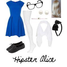 hipster alice - Hipster Halloween Ideas