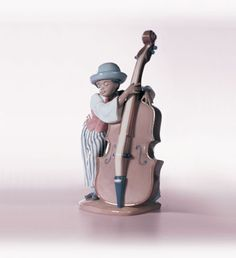 Lladro 05834 Jazz bass