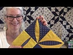She Folds Back A Piece Of Fabric To Show You How To Make A Special Item You'll Want! - DIY Joy