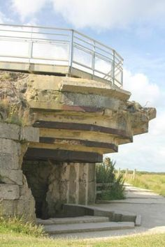 Pointe du Hoc: A mostly intact bunker