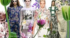 Into botanics SS13 / aniazajac.com Florals, Bloom, Fashion Trends, Floral, Flowers, Trendy Fashion