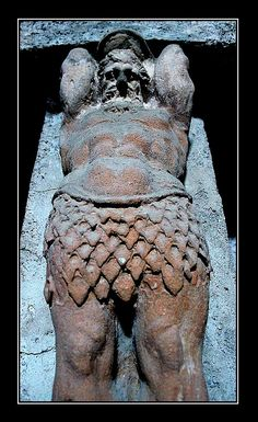 *POMPEII, ITALY ~ A Giant at the Bath