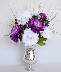 Artificial Flower Arrangement Light Darker By Beautyeverlasting Flowers Pinterest Lights And