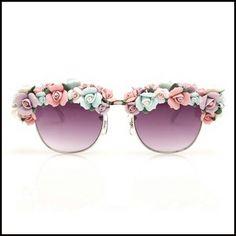 floral sunglass