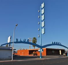 Betty Willis - Blue Angel Motel