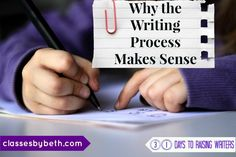 Day 11  Why the Writing Process Makes Sense