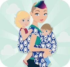 Wrap you in love-- Babywearing tutorials, pictures, reviews. Sorted by size.