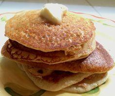 Overnight Oat Pancakes