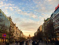 瓦茨拉夫廣場 · 布拉格