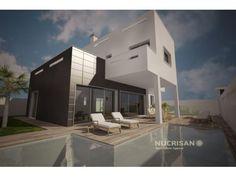 IMPRESIONANTE  VILLA MODERNA EN MIL PALMERAS COSTA BLANCA ALICANTE | 4 Habitaciones