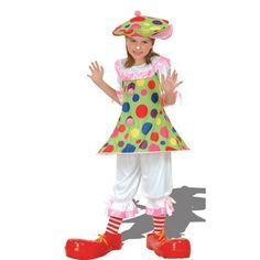 Déguisement fille clown