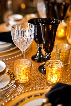 sequin and votives